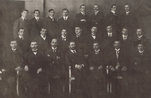 Die Freiwillige Feuerwehr Unterwittbach in ihrem Gründungsjahr 1901