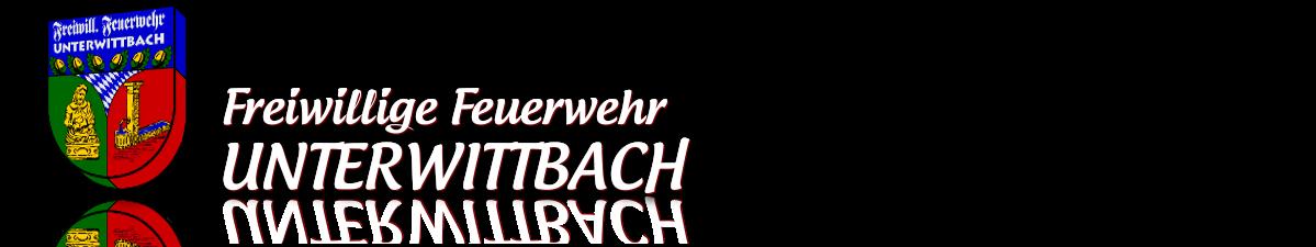 Logo und Schriftzug der Freiwilligen Feuerwehr Unterwittbach